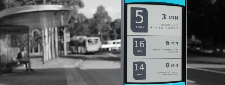 Smart City: i display E-Ink nel trasporto pubblico